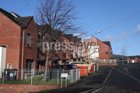 Press Eye - Ardoyne Place Shooting -  16th February 2020. No photographer byline.. A man was dragged into a house and shot in the leg by masked men at a house in North Belfast on Saturday night. Police are investigating the incident at Ardglen Place in Ardoyne which happened at around 10.40pm.. The man was shot once in the thigh was taken to hospital as police remained on the scene.. SDLP Councillor Paul McCusker told Belfast Live: