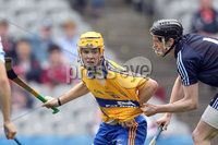 GAA Hurling All Ireland Minor Championship Semi-Final, Croke Park, Dublin 12/8/2012. Dublin vs Clare. Clare\'s Shane Taylor is held by Cian Mac Gabhan of Dublin . Mandatory Credit ©INPHO/Colm O\'Neill