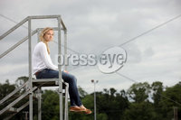 Press Eye - Belfast - Northern Ireland - 19th July 2012 - Northern Ireland athlete Joanna Mills pictured at Antrim Athletic ground.. Picture by Kelvin Boyes / Press Eye.