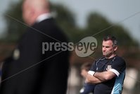 ©Press Eye Ltd Northern Ireland - 11th August  2012. Mandatory Credit - Picture by Darren Kidd/Presseye.com .   . Danske Bank Premiership, Ballymena United v Linfield FC.. Ballymena manager Glenn Ferguson