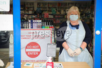 Press Eye - Belfast - Northern Ireland - Monday 23rd March 2020 - . General view of staff at the Medicare Pharmacy on the Belfasts Ormeau Road today.. Enforced social distancing is likely to be introduced soon, Northern Ireland\'s health minister Robin Swann has said. Photo by Kelvin Boyes / Press Eye .