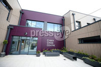 Press Eye - Belfast - Northern Ireland - 19th June 2019 . PSNIs Cyber Crime Centre officially opens in south Belfast.  The unit which deals with high end cyber crime has been in the new 4.3 million facilely for over a year.  . Photo by Jonathan Porter / Press Eye .