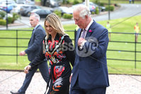 Press Eye - Belfast -  Northern Ireland - 22nd May 2019 - Photo by William Cherry/Presseye. . The Prince of Wales is pictured at the Palace Demesne, Armagh during his 2 day visit to Northern Ireland. He met Armagh City, Banbridge and Craigavon Lord Mayor Mealla Campbell .
