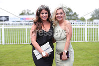 Press Eye - Belfast - Northern Ireland - 22nd June 2019 - . Summer Festival Of Racing Day 2 at Down Royal Racecourse.. Gillian and Brooke Thompson pictured at Down Royal Racecourse.. Photo by Kelvin Boyes / Press Eye.