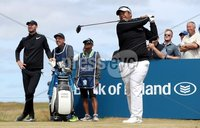 2018 Dubai Duty Free Irish Open - Day 1, Ballyliffin Golf Club, Co. Donegal 5/7/2018. Kiradech Aphibarnrat tees off at the ninth hole. Mandatory Credit ©INPHO/Oisin Keniry