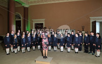 Press Eye - Belfast -  Northern Ireland - 17th May 2017 - Photo by William Cherry. Children from the St Lawrence's Primary School choir in Fintona, winners of this year's BBC Radio Ulster School Choir of the Year, helped to launch this year's BBC Proms in the Park Northern Ireland at an event in Castle Coole, outside Enniskillen, earlier today (Wednesday). This year's BBC Proms in the Park will come live from the grounds of the National Trust property on Saturday 9 September, with support from Fermanagh and Omagh District Council and Tourism Northern Ireland