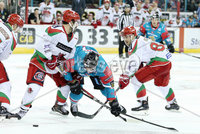 11 November 17, Mandatory Credit ©Press Eye/Darren Kidd.  Belfast Giants  with Cardiff Devils  during Saturday nights Elite League game at the SSE Arena, Belfast. Photo by Darren Kidd/Presseye