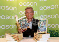 Friday 5th October  2018 - Press Eye Northern Ireland.. Picture by William Cherry  / Press Eye . Monty Python star and television globetrotter, Michael Palin was in Eason, Donegall Place Belfast today meeting with fans to celebrate the release of his new book \' Erebus: The Story of a Ship\'