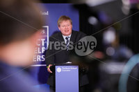 Press Eye - Belfast - Northern Ireland - 2nd June 2020 -  . Chief Social Worker Sean Holland during the daily media broadcast in the Long Gallery at Parliament Buildings, Stormont on Tuesday.. Photo by Kelvin Boyes / Press Eye..