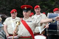 Mandatory Credit - Picture by Freddie Parkinson/Press Eye . Saturday 13 July 2019. Scarva, Co Down.. Colin Ward of Skeogh Flute Band Dromore. Scarva is famous as the location of the