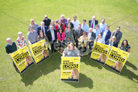 Press Eye - Belfast - Northern Ireland - 14th May 2019. Alliance Party and EU Candidate Naomi Long along with other members launch the partys manifesto for the upcoming European Election at CIYMS in east Belfast. .  . Picture by Jonathan Porter/PressEye
