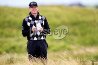 ©Press Eye Ltd Northern Ireland -30th June 2012. Mandatory Credit - Picture by Darren Kidd/Presseye.com .  . 2012 Irish Open at Royal Portrush..  Day 3 - Jamie Donaldson