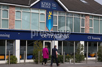 Press Eye - Belfast - Northern Ireland - Monday 23rd March 2020 - . General view of Kingsbridge private hospital in Belfast.. Enforced social distancing is likely to be introduced soon, Northern Ireland\'s health minister Robin Swann has said. Photo by Kelvin Boyes / Press Eye .