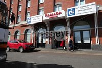 Press Eye - Belfast - Northern Ireland - 6th April 2020 -  . Ramada Hotel in Belfast city centre which will act as a Community Step Down Centre along side the hospitals in Northern Ireland. . Photo by Kelvin Boyes / Press Eye..  .