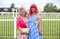 Press Eye - Belfast - Northern Ireland - 22nd June 2019 - . Summer Festival Of Racing Day 2 at Down Royal Racecourse.. Alison Geoghean and Alison McAleenan pictured at Down Royal Racecourse.. Photo by Kelvin Boyes / Press Eye.