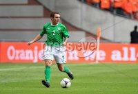 ©Press Eye Ltd Northern Ireland - 1st June 2012. Mandatory Credit - Picture by Darren Kidd/Presseye.com .  . Netherlands v Northern Ireland at the Amsterdam Arena.. Northern Ireland\'s Lee Hodson