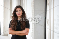 Press Eye - Belfast - Northern Ireland - 20th May 2020 -  . SDLP member Cara Hunter, MLA for East Londonderry pictured at Parliament Buildings.. Photo by Kelvin Boyes / Press Eye.