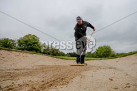 PressEye - Belfast - Northern Ireland - 17th May 2020. Chris Moran, Course Manager of Banbridge Golf Club in County Down Northern Ireland, makes final preparations on the course for play ahead of the Northern Ireland Executives expected announcement . Picture: Philip Magowan / PressEye