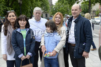 1st June 2019. MLA\'s from Sinn Fein,Alliance,SDLP,UUP and People before profit pictured at City Hall in Belfast during  a demonstration on behalf of Charlotte and Billy Caldwell .Billy, 13, suffers from a severe, life-threatening form of epilepsy for which cannabis oil is the most effective treatment and unfortunately his supply is at a critically low point.. Mandatory Credit-Presseye/Stephen Hamilton