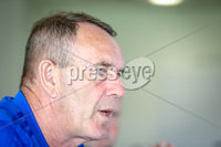 Press Eye - Belfast - Northern Ireland - 16th May 2019. Kenny Shields pictured at The National Football Stadium at Windsor Park, Belfast as he is announced as the new Northern Ireland senior womens international manager.. He replaces Alfie Wylie who moved to a new position as Head of Womens Elite Performance earlier this year.. Picture Matt Mackey / Press Eye.