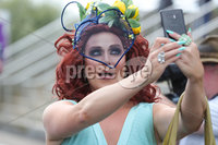 Press Eye - Belfast - Northern Ireland - 22nd June 2019 - . Summer Festival Of Racing Day 2 at Down Royal Racecourse.. Marcus Hunter-Neill aka  Lady Portia pictured at Down Royal Racecourse.. Photo by Kelvin Boyes / Press Eye.