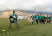 Ireland Training, Queensland Events Centre Queenstown, New Zealand 20/6/2012. Rob Kearney during training. Mandatory Credit ©INPHO/Billy Stickland