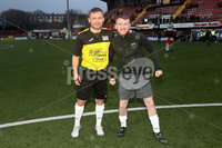Press Eye - Charity Football Match -  Cystic Fibrosis All Stars vs Limestone United - Seaview - 9th February 2020. Photograph by Declan Roughan. Cystic Fibrosis All Stars Carl Frampton and Paddy Barnes.