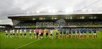 Press Eye - Belfast -  Northern Ireland - 10th July 2019 - Photo by William Cherry/Presseye/Inpho. Linfield with Rosenborg during Wednesday nights Champions League, Qualifying First Round, 1st Leg game at the National Stadium at Windsor Park, Belfast.