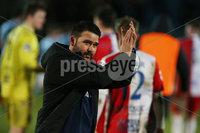 Danske Bank Premiership, Showgrounds, Ballymena. 14/2/2020. Ballymena United  vs Linfield FC. Linfield manager David Healy after a 4-1 victory against against Ballymena United.. Mandatory Credit  INPHO/Brian Little