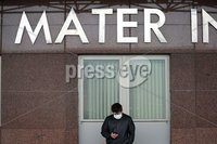 Press Eye - Belfast - Northern Ireland - Monday 23rd March 2020 - . General view of the Mater Hospital in Belfast.. The Mater was designated as Belfast\'s coronavirus hospital.. Enforced social distancing is likely to be introduced soon, Northern Ireland\'s health minister Robin Swann has said. Photo by Kelvin Boyes / Press Eye .