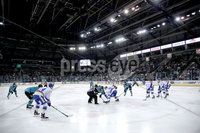 Press Eye - Belfast, Northern Ireland - 06th March 2020 - Photo by William Cherry/Presseye. Belfast Giants with Fife Flyers during Friday nights Elite Ice Hockey League game at the SSE Arena, Belfast.   Photo by William Cherry/Presseye