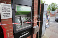 PressEye - Belfast - Northern Ireland - 17th May 2019. Pictured: The scene of an attempted ATM theft at Gilnahirk.. Picture: Philip Magowan / PressEye