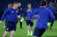 Press Eye - Belfast, Northern Ireland - 09th October 2019 - Photo by William Cherry/Presseye. Northern Ireland\'s Steven Davis during Wednesday nights training session at Stadium Feijenoord ahead of Thursday nights UEFA Euro 2020 Qualifier against Netherlands in Rotterdam. Photo by William Cherry/Presseye