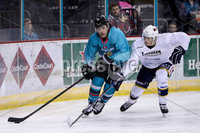 Press Eye - Belfast -  Northern Ireland - 24th August 2019 - Photo by William Cherry/Presseye . Belfast Giants\' Liam Morgan during Saturday nights Exhibition Game against Herning Blue Fox at the SSE Arena, Belfast.    Photo by William Cherry/Presseye