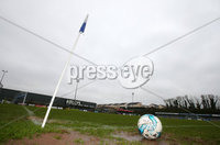 Danske Bank Premiership, Milltown Playing Fields, Newry 13/1/2018. Warrenpoint Town vs Linfield. Match called off due to a water logged pitch. . Mandatory Credit ©INPHO/Jonathan Porter