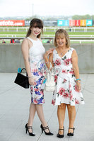 Press Eye - Belfast - Northern Ireland - 7th May 2018  - . May Day Meeting at Down Royal Racecourse.. Lalita Ossawy and Christine Ossawy pictured at the County Down racecourse.. Photo by Kelvin Boyes / Press Eye .
