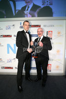 Press Eye - Belfast - Northern Ireland - 7th May 2018  - . NI Football Awards at the Crowne Plaza Hotel.. BETMcLEAN MANAGER OF THE YEAR