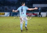 Bet McLean Cup Semi-Final, Showgrounds, Co. Antrim 10/2/2018. Ballymena United vs Cliftonville. Ballymena\'s Cathairl Friel celebrates after scoring. Mandatory Credit ©INPHO/Jonathan Porter