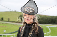 Press Eye - Belfast - Northern Ireland - 11th August 2019 - Lynn Burns from Banbridge at the Downpatrick Racecourse Style Sunday race meeting. . Photograph by Declan Roughan / Press Eye