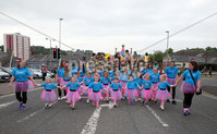 Press Eye - Larne Summer Festival Parade - 4th June 2016. Photograph Declan Roughan / Presseye. The carnival gets underway.