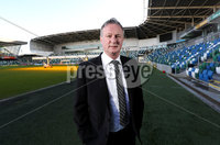 Press Eye - Belfast -  Northern Ireland - 09th February 2018 - Photo by William Cherry/Presseye. Michael O'Neill was at the National Football Stadium at Windsor Park today to sign a four-year contract extension which will see him continue as Northern Ireland senior men's international manager until 2024..