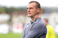 Danske Bank Premiership, The Showgrounds, Ballymena, 14/09/2019. Ballymena United vs Coleraine. Mandatory Credit INPHO/Declan Roughan. Coleraine\'s manager Oran Kearney.