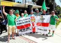 Press Eye - Belfast -  Northern Ireland - 03rd June 2018 - Photo by William Cherry/Presseye. Northern Ireland fans before Sunday mornings International Friendly against Costa Rica at the Nuevo Estadio Nacional de Costa Rica in San Jose.   Photo by William Cherry/Presseye