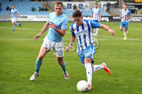 Danske Bank Premiership, The Showgrounds, Ballymena, 14/09/2019. Ballymena United vs Coleraine. Mandatory Credit INPHO/Declan Roughan. Ballymena United\'s Leroy Millar with Ben Doherty of Coleraine