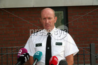 Mandatory Credit - Picture by Freddie Parkinson/Press Eye . Thursday 8 August 2019. Assistant Chief Constable Alan Todd give his account of the PSNI actions in North Belfast.