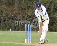 © Presseye Press Eye Ltd- Northern Ireland. May 5th 2012. Mandatory Credit Photo by Presseye.com. . NCU Ulster Bank Premier League. Instonians v CIYMS.. CIYMS\' Craig Boultwood