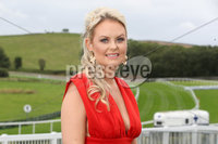 Press Eye - Belfast - Northern Ireland - 11th August 2019 - Danielle Heaney pictured at the Downpatrick Racecourse Style Sunday race meeting. . Photograph by Declan Roughan / Press Eye