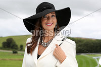 Press Eye - Belfast - Northern Ireland - 11th August 2019 - Sharon Donnan from Comber pictured at the Downpatrick Racecourse Style Sunday race meeting. . Photograph by Declan Roughan / Press Eye