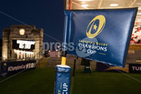 European Rugby Champions Cup Round 4, Kingspan Stadium, Belfast 15/12/2017. Ulster vs Harlequins. A view Champions Cup branded flag before the game . Mandatory Credit ©INPHO/Bryan Keane
