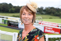 Press Eye - Belfast - Northern Ireland - 11th August 2019 - Jenny McGreevey from Portaferry pictured at the Downpatrick Racecourse Style Sunday race meeting. . Photograph by Declan Roughan / Press Eye